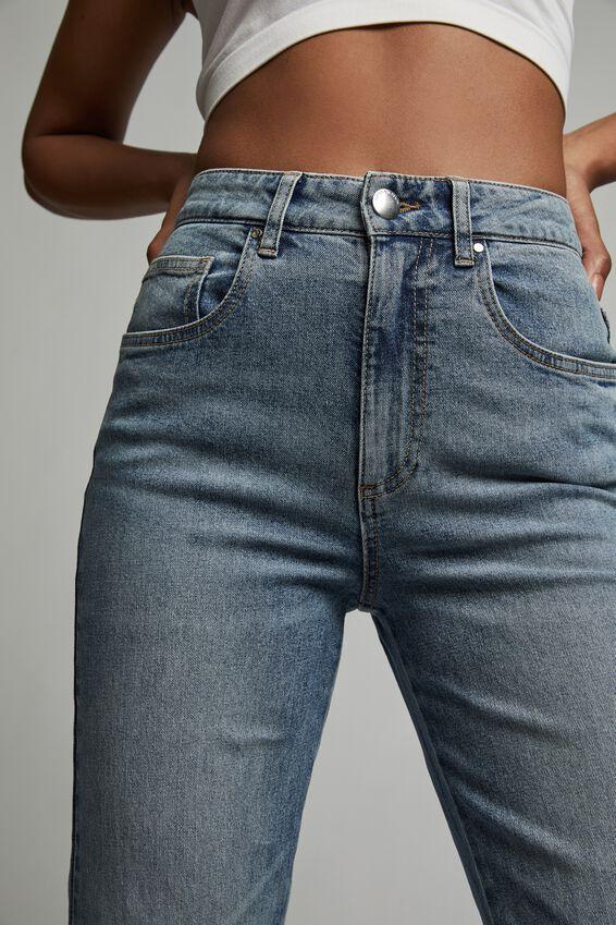 Straight Stretch Jean, BRUNSWICK BLUE