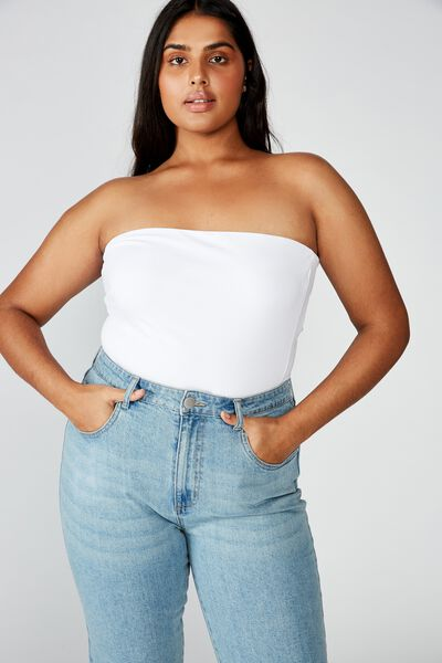 Curve Billy Bandeau, WHITE