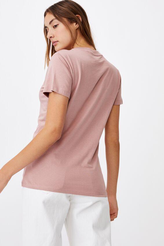 Classic Arts T Shirt, HUMMINGBIRD/BLUSH