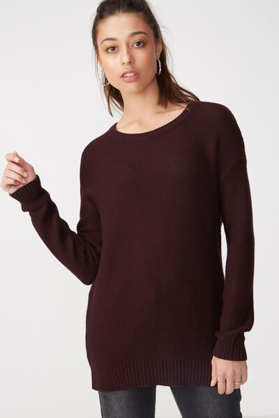 Archy 4 Pullover, BLACKBERRY WINE