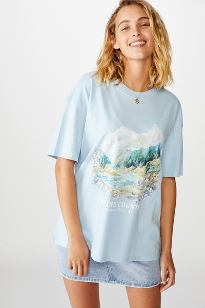 The Original Graphic Tee, ALPINE COUNTRY/CERULEAN