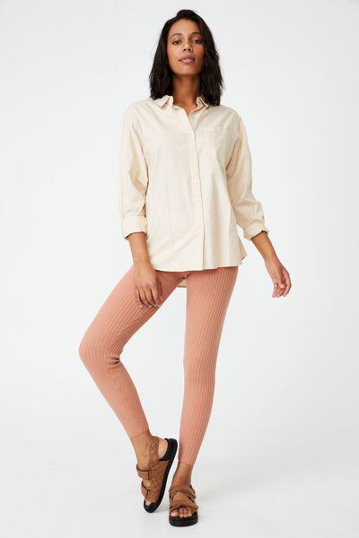 Rosie Knit Legging, SUGAR ROSE