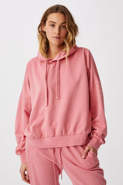 Your Favourite Hoodie, STRAWBERRY GARMENT PIGMENT DYE