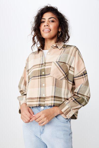 d66afe3c57d Megan Chopped Shirt