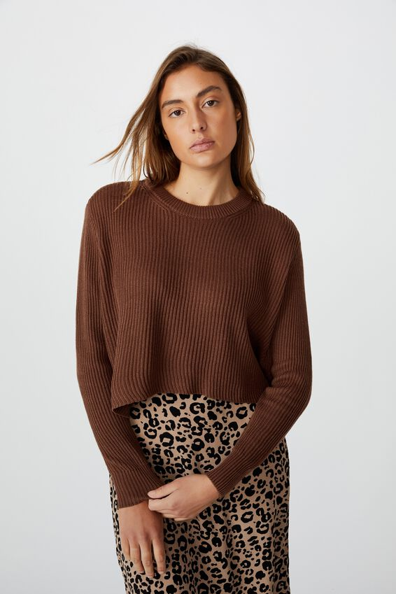 Archy Cropped 2 Pullover, ACORN