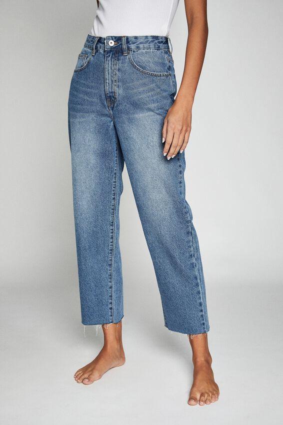 Straight Leg Jean, BRONTE BLUE