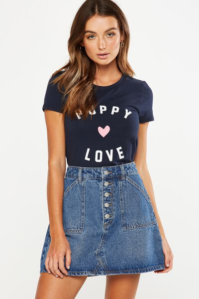 Tbar Hero Graphic T Shirt, CNY PUPPY LOVE/MOONLIGHT