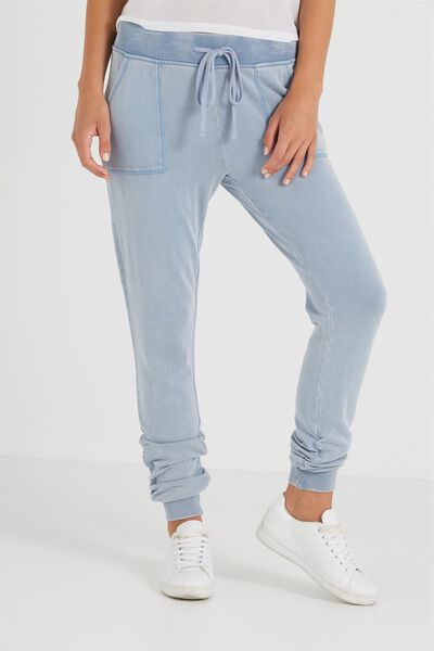 Light Weight Trackie, ENDLESS BLUE WASHED