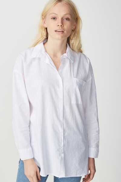 Monique Shirt, WHITE