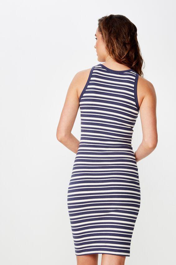 Lena Midi Dress, ASHLEY STRIPE NAVY