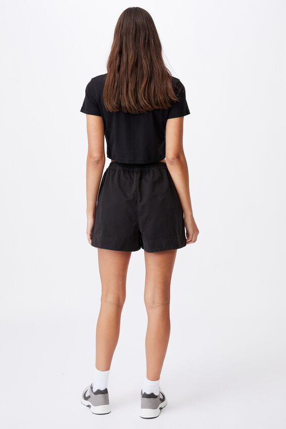 Eve Twill Short, BLACK
