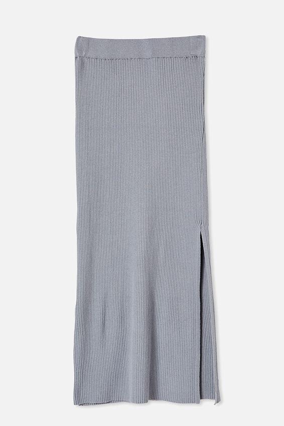 Stella Knit Midi Skirt, TRADWINDS
