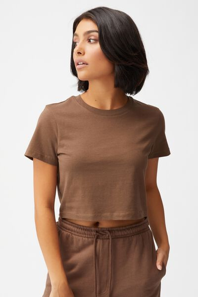 The Baby Tee, BROWN