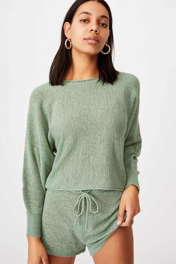 Match Me Pullover, SEAFOAM GREEN