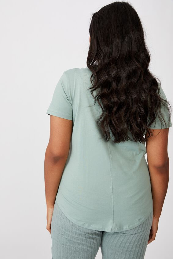 Curve The One Scoop Tee, CHINOIS GREEN