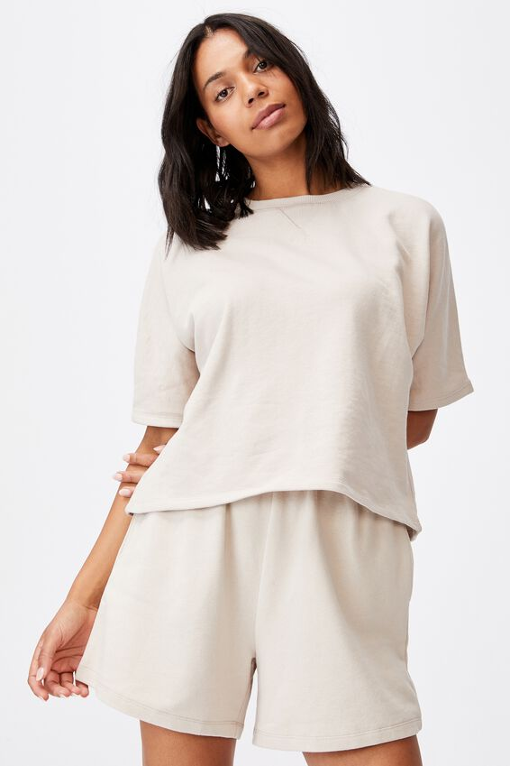 Clubhouse Short Sleeve Tee, TAUPE