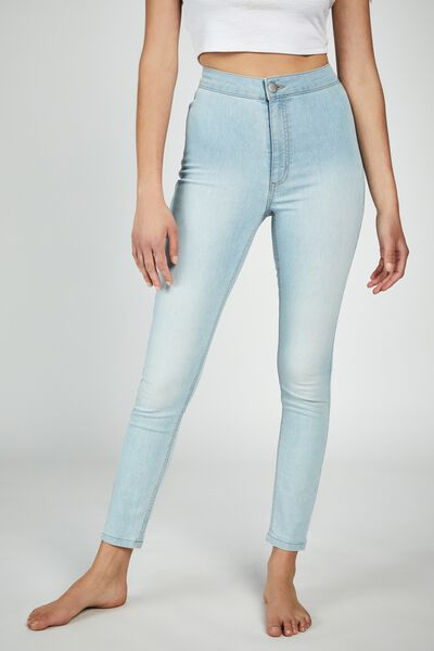 High Rise Jegging, SKYWAY LIGHT BLEACH