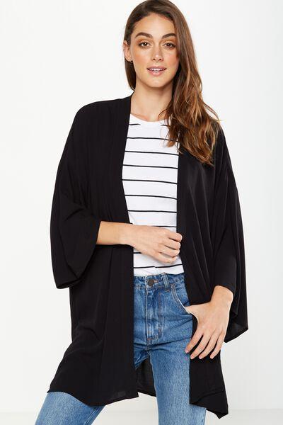 Holly Kimono, BLACK