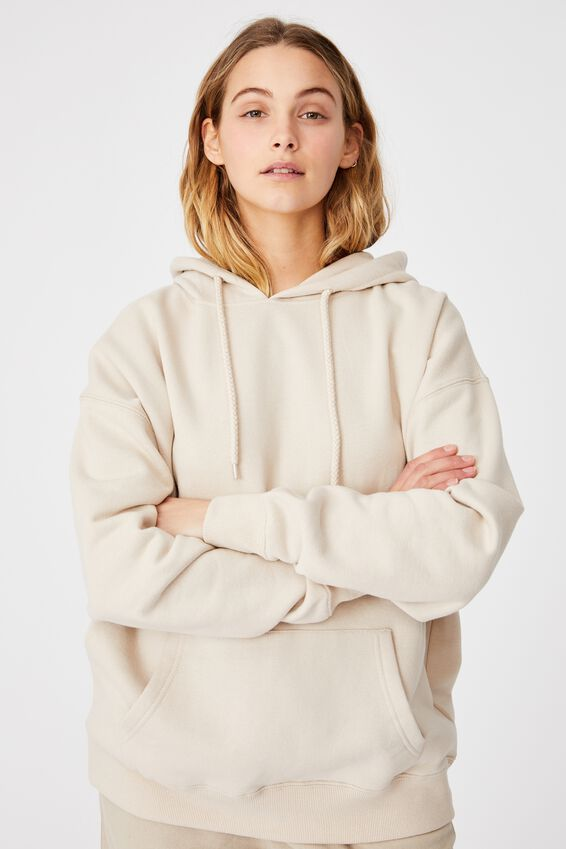Dad Maxi Peached Hoodie, SILVER LINING