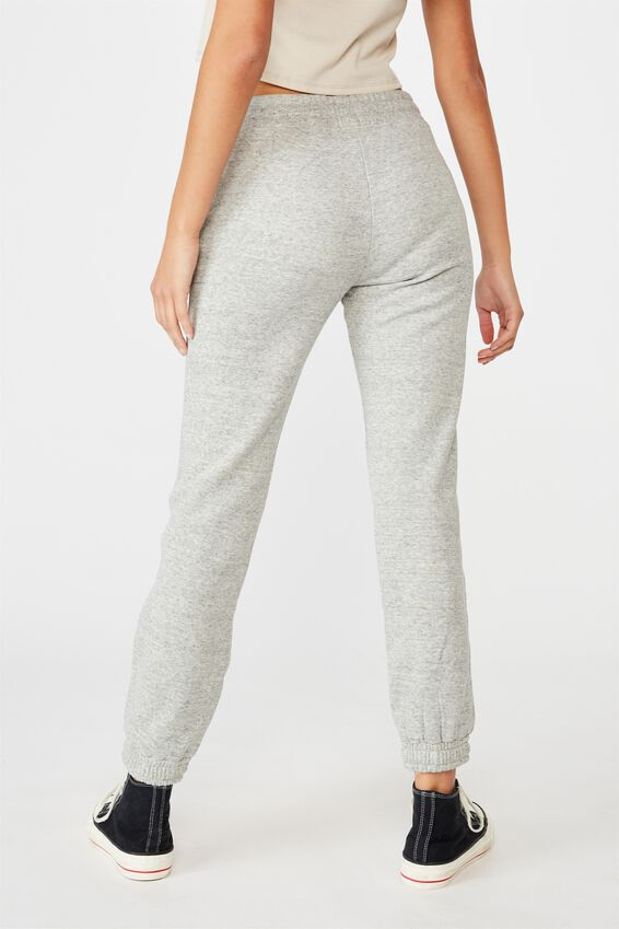 Slim Fit Trackpant, GREY MARLE