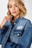 New Boyfriend Fashion Denim Jacket, FEMME/FEIRCE