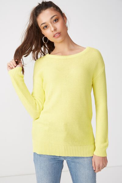 Archy 4 Pullover, KNITWEAR LIMELIGHT