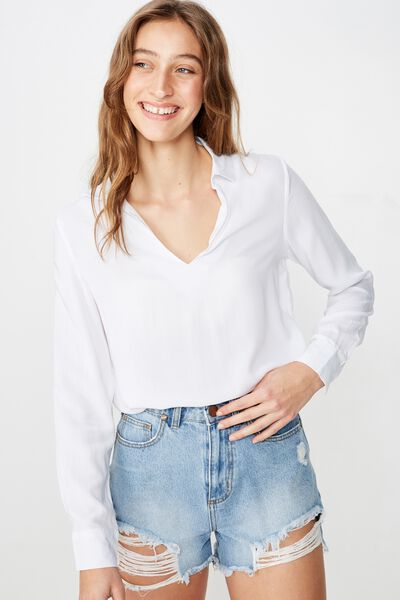 Blake 365 Shirt, WHITE