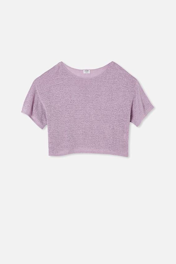 Match Me T- Shirt, FROSTY LILAC