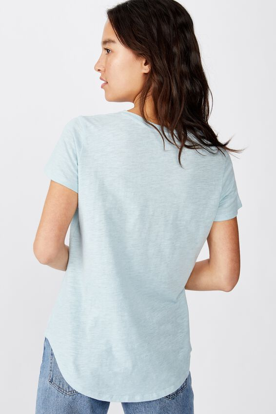 The Crew T Shirt, STERLING BLUE