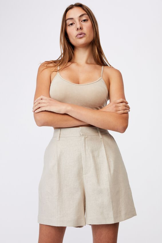 Ultimate Smart Short, TAUPE