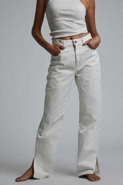 Straight Split Jean, WHITEHAVEN
