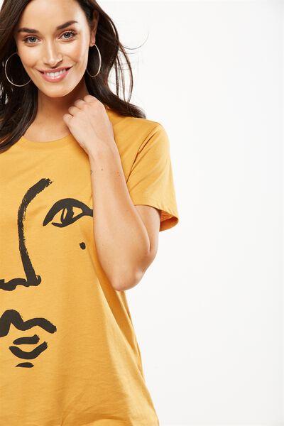 Tbar Fox Graphic T Shirt, BEAUTY SPOT/SPRUCE YELLOW