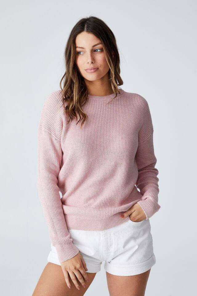 Everyday Pullover, SAND ZEPHYR WINTER PINK TWIST