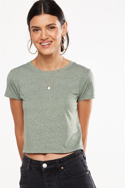O Baby Speckle Tee, FOXTROT SPECKLE