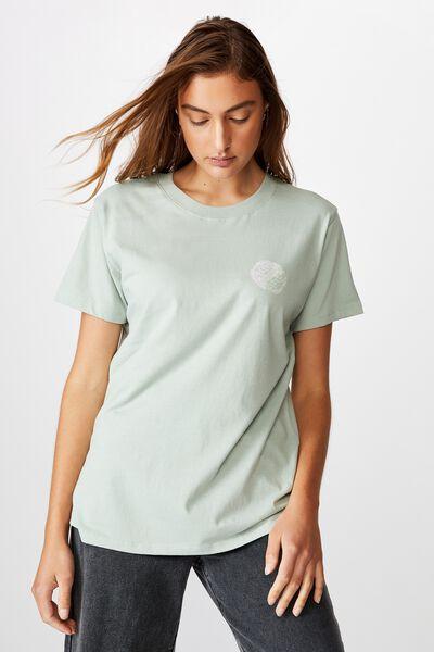 Classic Arts T Shirt, YIN YANG/BLUE SURF