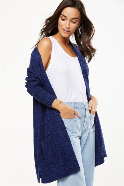 Archy Cardigan, COBALT/MOONLIGHT TWIST