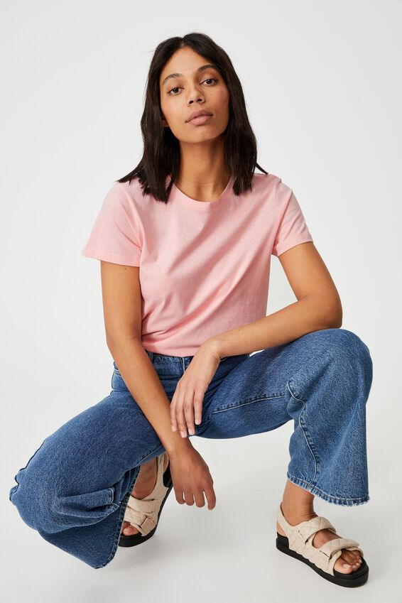 The One Crew Tee, CANDY PINK