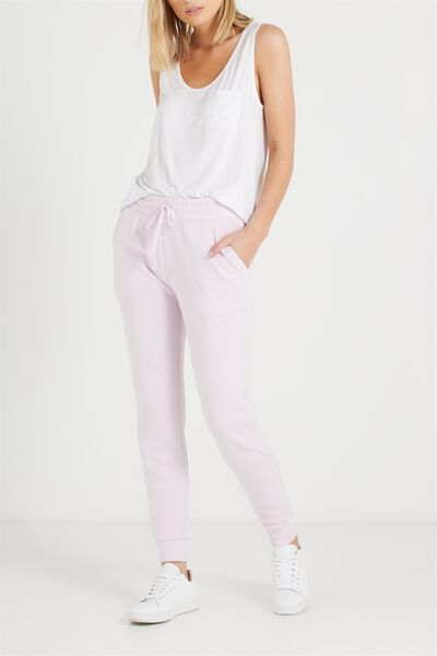 Adele Trackpant, LIGHT LAVENDER
