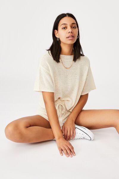 Match Me T- Shirt, SEASHELL WHITE