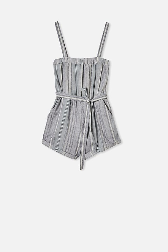Woven Audrey Strappy Playsuit, HAYLEY STRIPE INFINITY