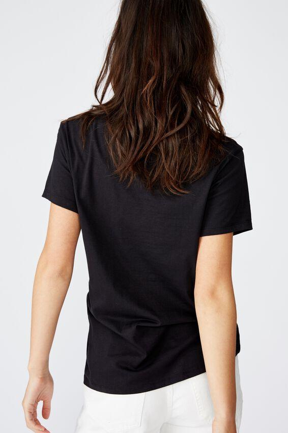 Classic Band T Shirt, LCN SMASHING PUMPKINS/BLACK