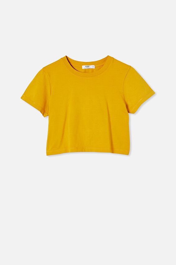 The Baby Tee, WASHED GOLDEN