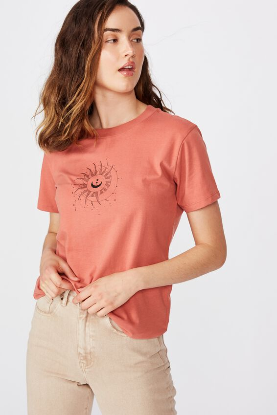 Classic Arts T Shirt, CELESTIAL SUNFLOWER/CANYON ROSE