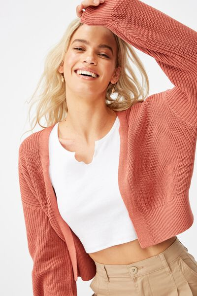 Archy Summer Cardi 2, CANYON ROSE