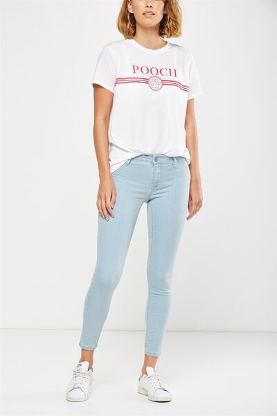 Mid Rise Jegging, BLEACH BLUE CARPENTER RAILROAD