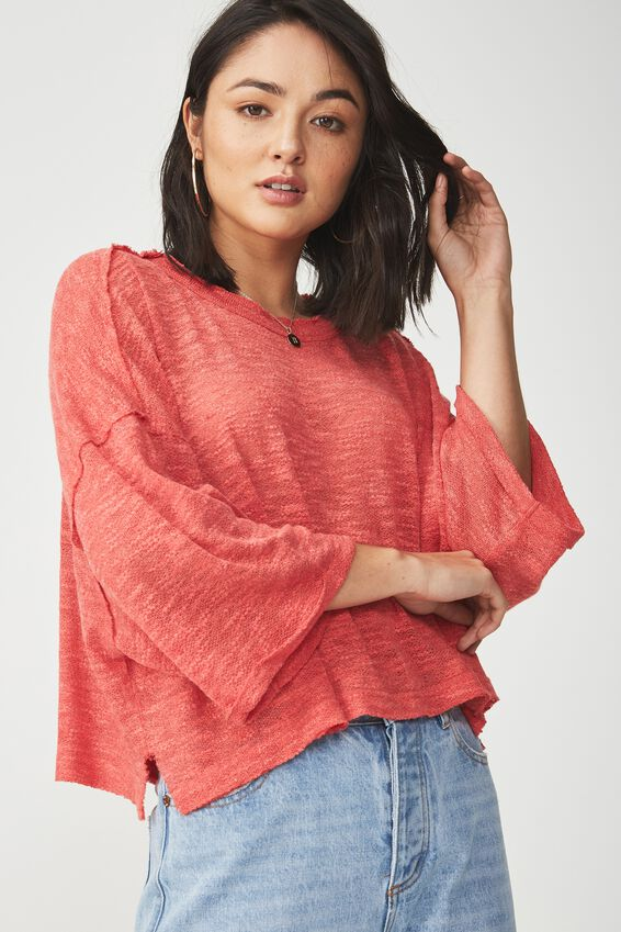 Ot Maisy Pullover, CHILLY RED