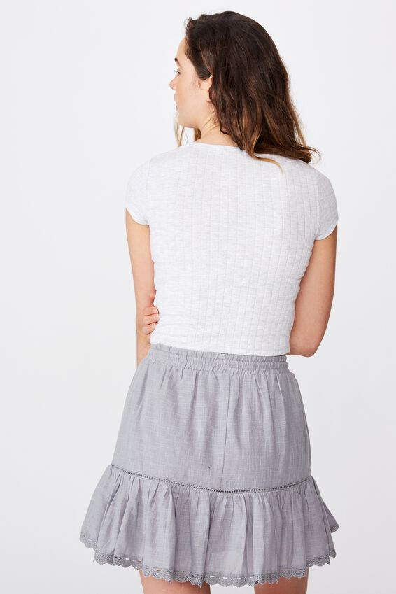Chi Trim Mini Skirt, TRADEWINDS