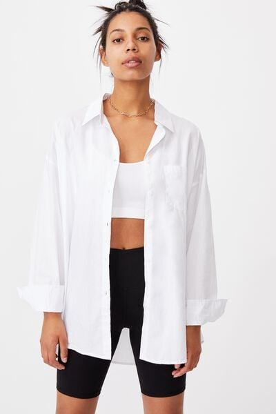 Dad Shirt, WHITE