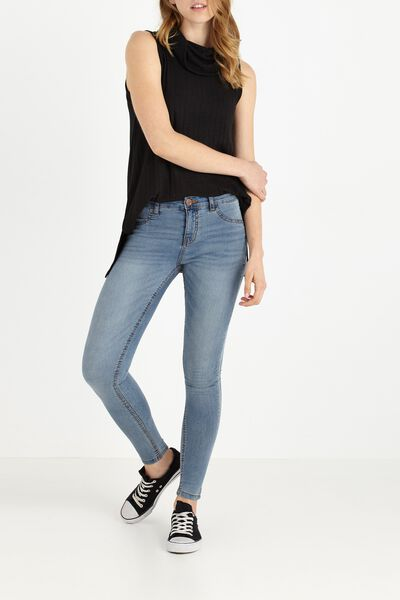 Mid Rise Jegging, MID BLUE 2