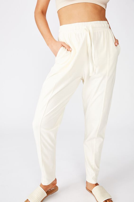 Relaxed Lounge Pant, CANNOLI CREAM